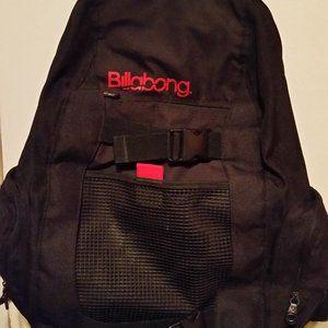 Billabong backpack black & red